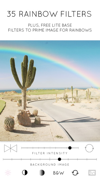 Rainbow Love: Rainbow Photo Filters
