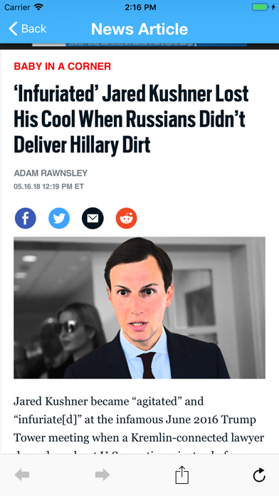 Liberal News Screenshot