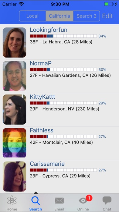 Screenshot for AtheiDate in United States App Store
