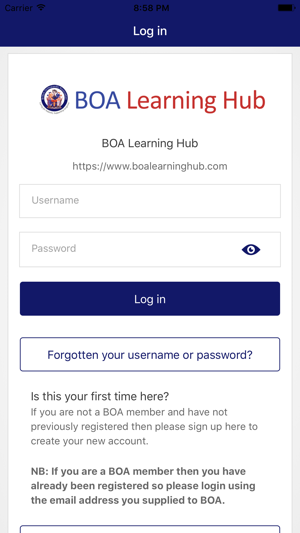 BOA Learning Hub on the App Store