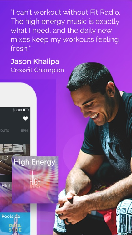 Fit Radio: Amp Your Workout screenshot-3