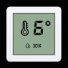 デジタル温度計 - リアルタイムの屋内外の...
