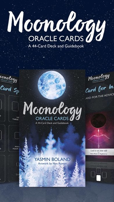 Moonology Oracle Cards screenshot 1