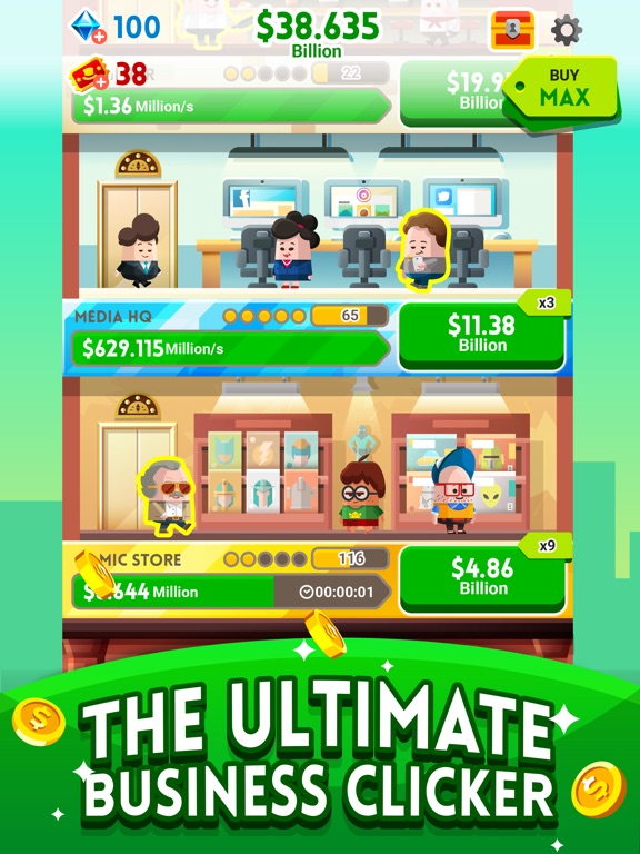Cash, Inc. Fame & Fortune Game screenshot 7
