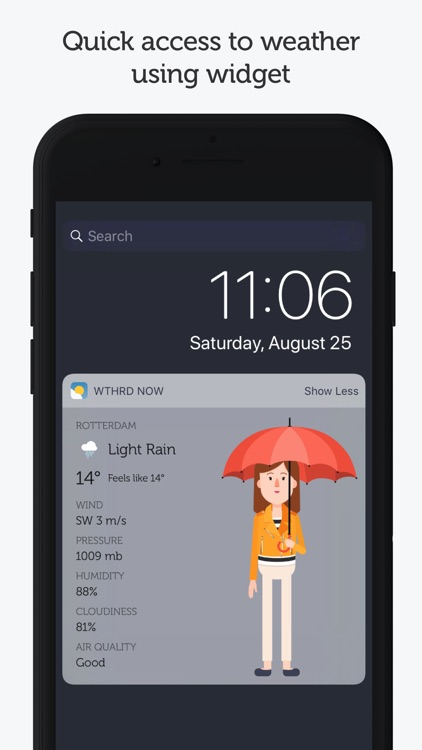 WTHRD - Weather & Clothing screenshot-3