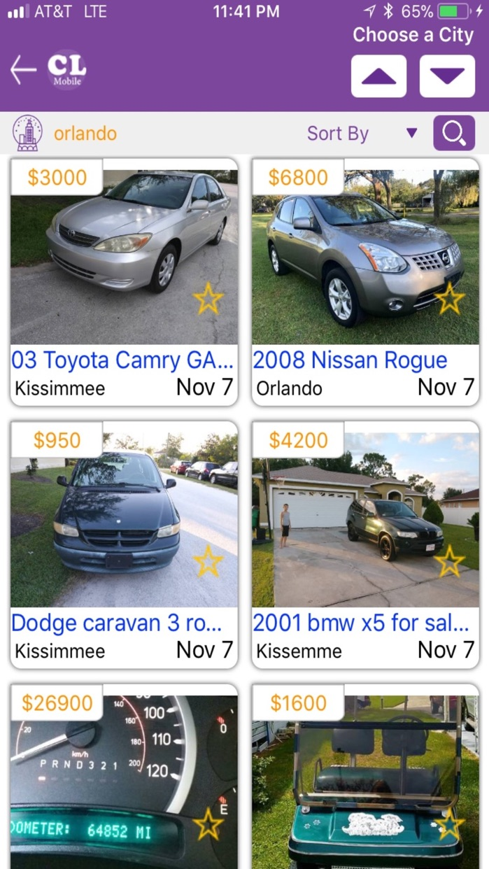 CL Mobile Pro - Craigslist ads Screenshot