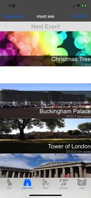 UK Travel Guide Screenshot