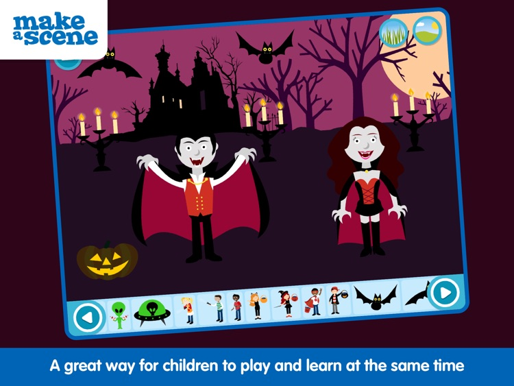 Make a Scene: Halloween screenshot-3