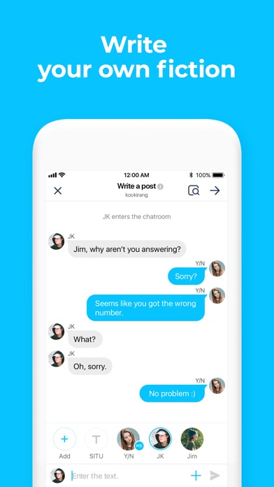 wit - Exciting Chat Story Screenshot