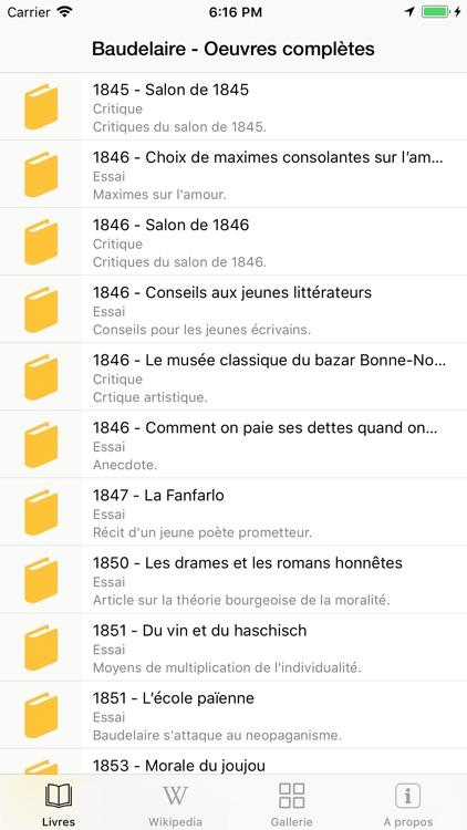 Baudelaire  Oeuvres complètes