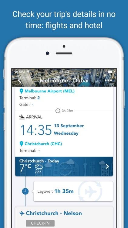 CheckMyTrip – Travel Itinerary screenshot-3