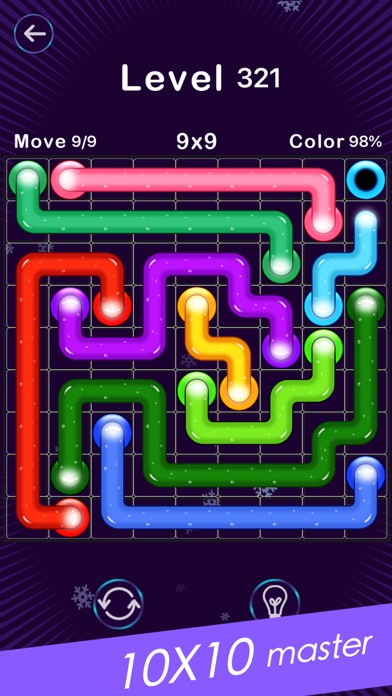 Screenshot for Color Line -Fill Block Puzzle in Finland App Store