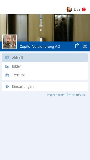Capitol Versicherung Ag Im App Store