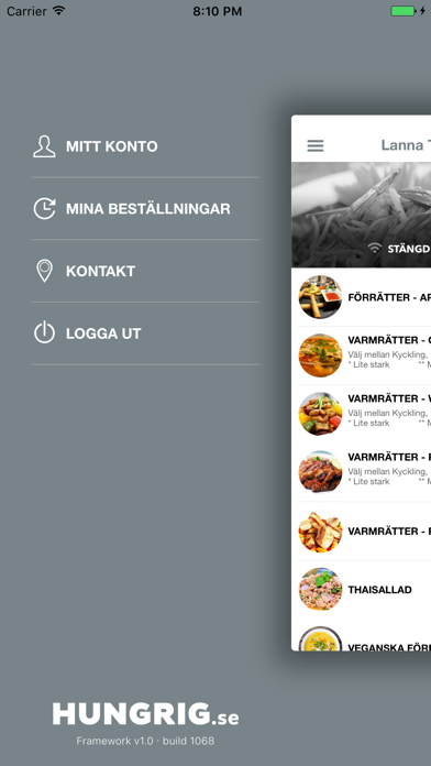 Lanna Thai Bistro Screenshot