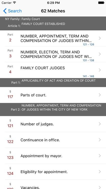 New York Family Court Code screenshot-4