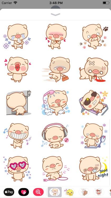 Piggy Pig Sticker screenshot-3