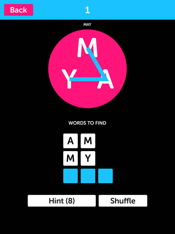 Pink Letters - Word Search Puzzle Game screenshot 4