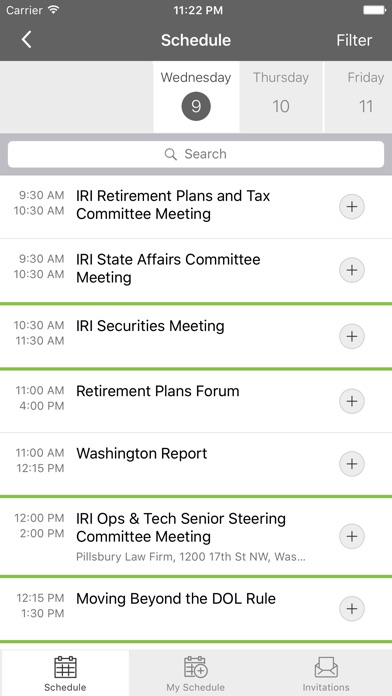 Image of IRI Events for iPhone
