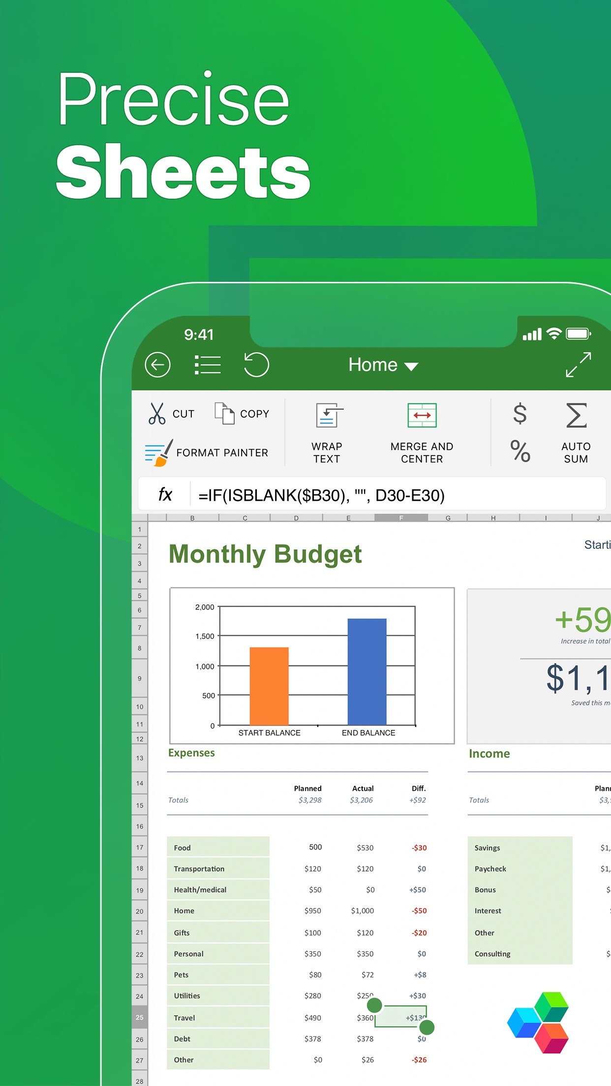 OfficeSuite - Office Editor Screenshot