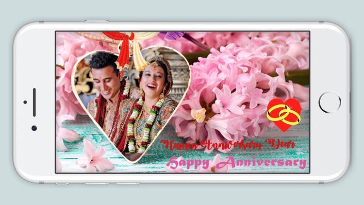 Anniversary Photo Frame - Love Photo Effect screenshot-3