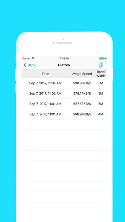 芒果测网速-网络测速工具 screenshot-3