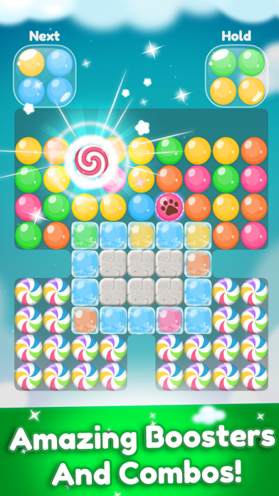Super Candy Ball - Color Clash screenshot two