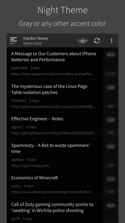 Hacker News (YC) screenshot-3