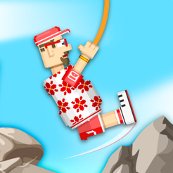 ‎Rope Heroes : Hole Runner Game