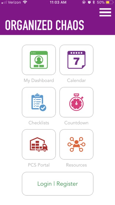 OrganizedChaosApp screenshot 1