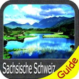 Nationalpark Sachsische Schweiz GPS Map Navigator