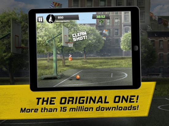 iBasket Pro- Street Basketball For iOS Hits Free For First Time In A Year