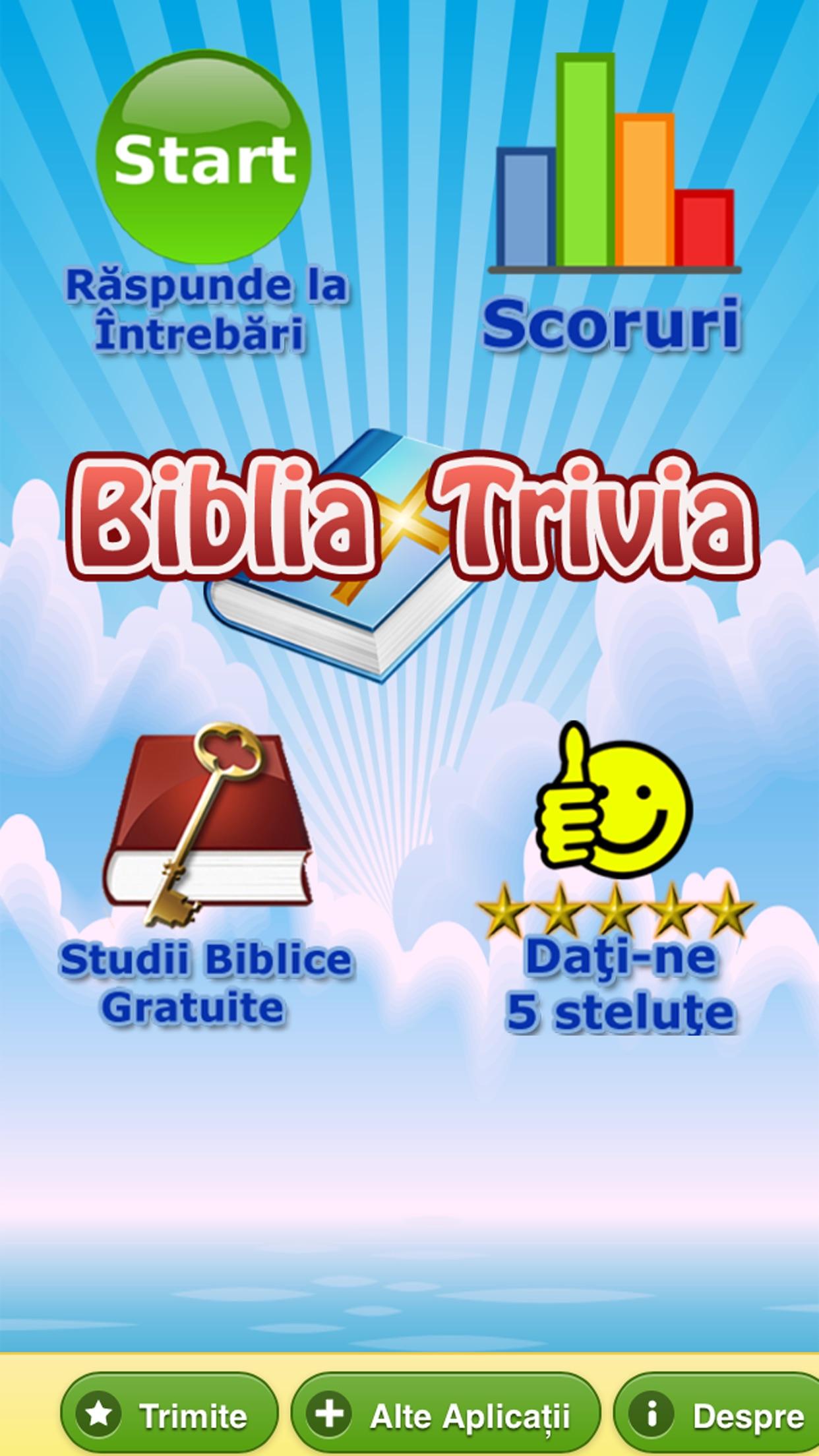Chestionar Biblic Crestin - Studiu Biblic Screenshot