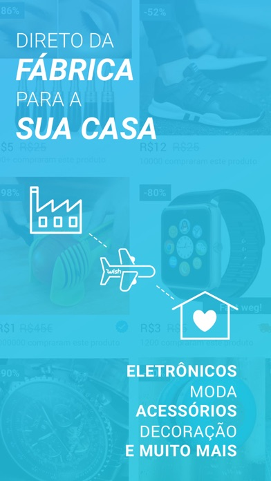Screenshot for Wish - Comprar é divertido in Portugal App Store