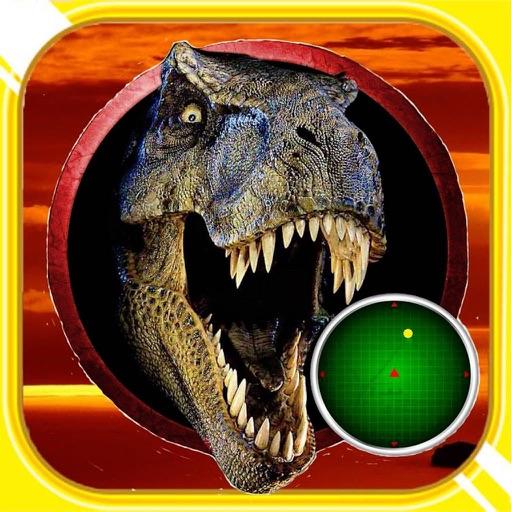 Jurassic Dino Photo Sticker