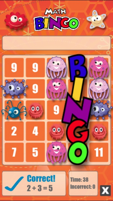 Math Bingo review screenshots