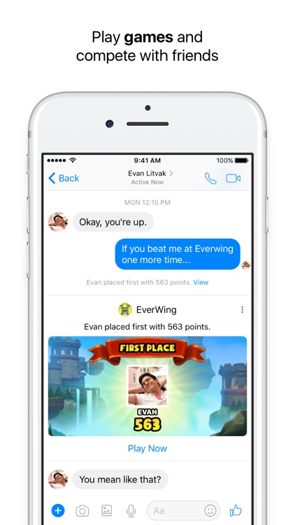 Messenger screenshot-4