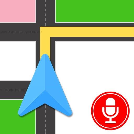 Voice Gps Navigation driving