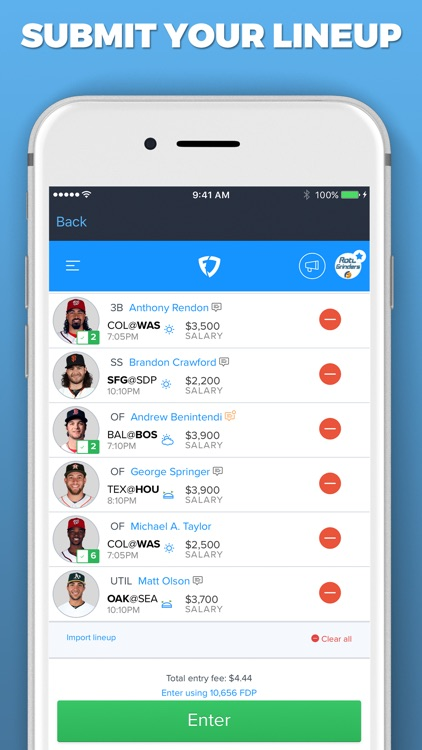 LineupHQ Express for FanDuel screenshot-7