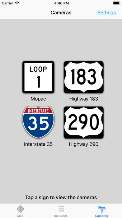 Austin Traffic review screenshots
