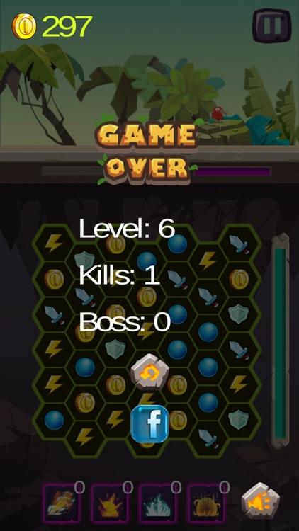 Hero Match 3 RPG screenshot-4