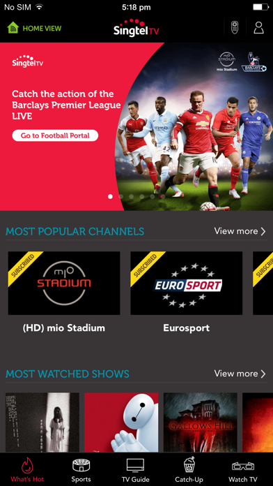 Top 10 Apps like JioTV-Live TV & Catch-Up in 2019 for iPhone