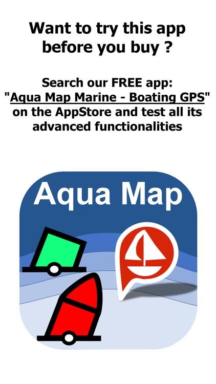 Aqua Map US - Marine Chart GPS screenshot-0