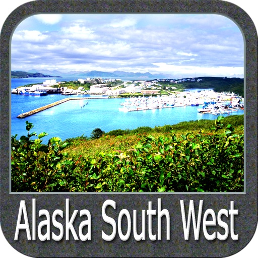 Boating Alaska South West GPS maps sailing charts