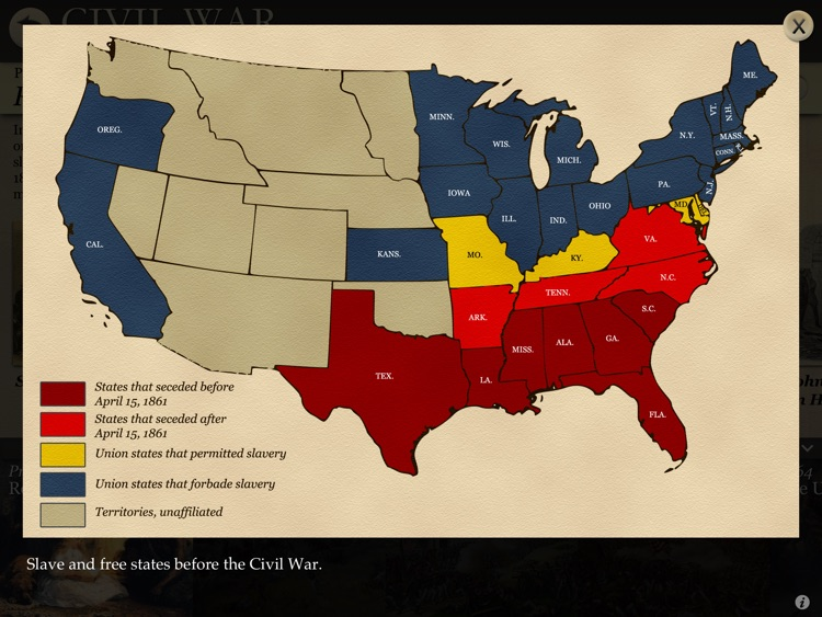 American Civil War Interactive screenshot-4