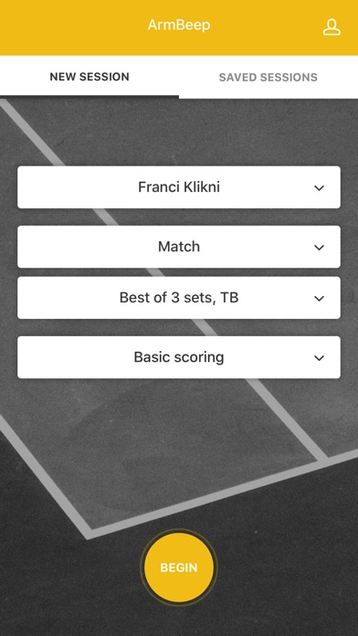 Armbeep Tennis Screenshot