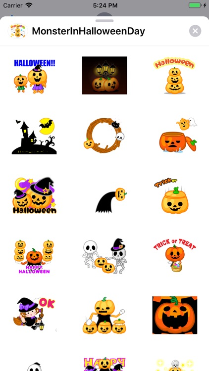 Monster Pumpkin In Halloween