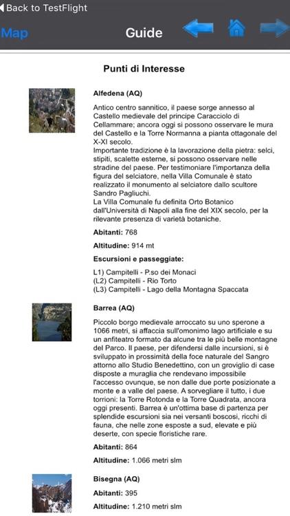 Abruzzo, Lazio e Molise National Park GPS chart screenshot-3