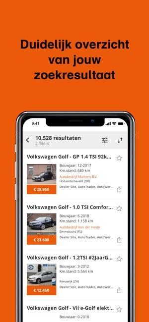 tweedehands auto app