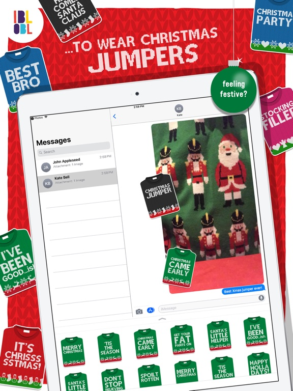 Christmas Jumpers for iMessage screenshot 5