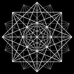 Entangle - Geometric drawing